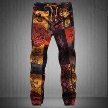Новая Мода, Гавайские удобные фирменные мужские Штаны для отдыха высокого качества, Размеры M-5 xl, повседневные мужские штаны для бега s