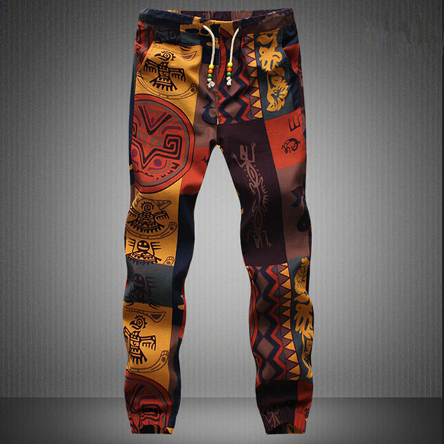 fd0c71576bb New fashion 2017 Hawaiian Comfortable Leisure Brand High Quality Men Pants  Size M - 5 xl