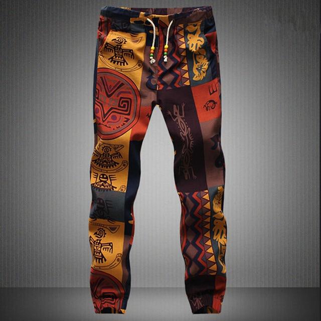 New fashion 2020 Hawaiian Comfortable Leisure Brand High Quality Men Pants Size M - 5 xl casual Mens Joggers 1