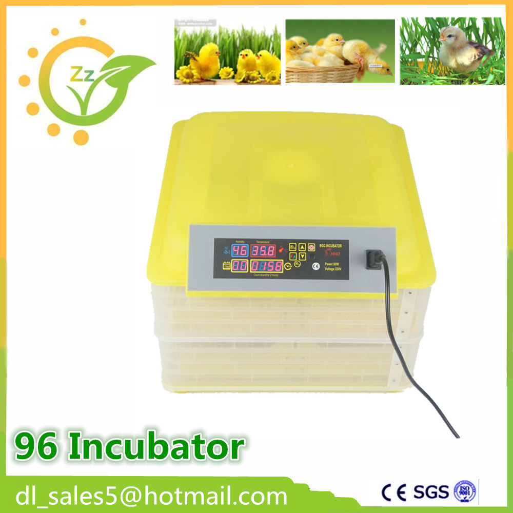 Mini Chicken 96 egg incubator  automatic Cheap brooder incubator for hatching eggs top selling high quality full automatic 96 mini chicken egg incubator with high hatching rate