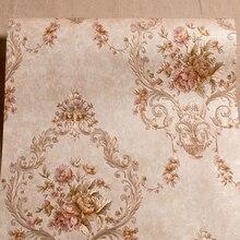 Tapeta Wysokiej klasy Europejskiej włókniny sypialnia nocne tło tapety ścienne sypialnia 3D relief tłoczone tapety AB