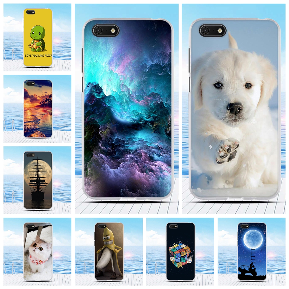 Coque Printing For <font><b>Huawei</b></font> <font><b>Y5</b></font> <font><b>Y5</b></font> Prime 2018 Soft TPU <font><b>Silicone</b></font> For Honor 7A / 7s Frame Bumper Cover For Honor Play 7 Phone Case image
