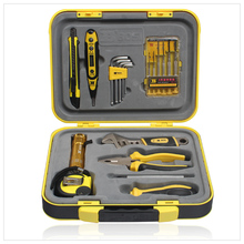 Free shipping excellent 20pc household diy tools set,good quality,nice case good for gift