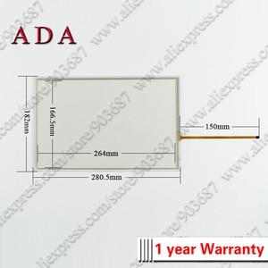 """Image 4 - Panel de cristal para pantalla táctil, digitalizador para 6AV2124 0MC01 0AX0 6AV2 124 0MC01 0AX0 TP1200, Panel táctil cómodo de 12 """"con superposición"""