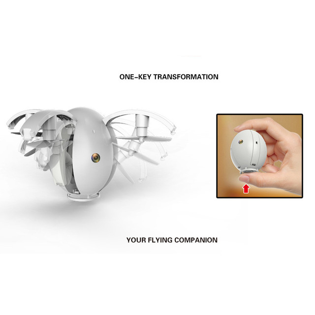 Folding Transformable Egg Drone