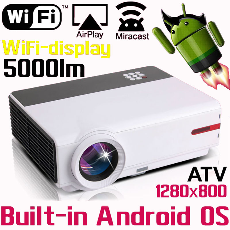 Smart Home Theater 1080P TV Video HDMI LCD Video fuLL HD LED Android Wifi Projector Projetor Proyector Beamer