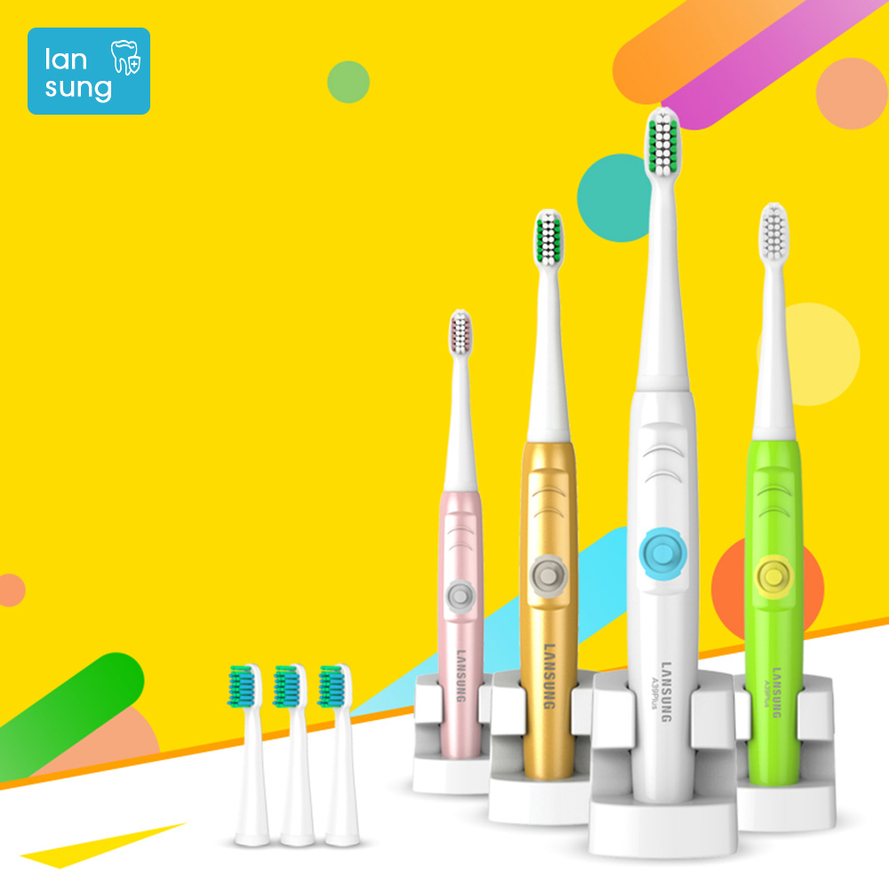 Sonic electric toothbrush electronic Tooth Brush Oral Hygiene Ultrasonic Toothbrush Electric Brosse A Dent Electrique LANSUNG 4 ultrasonic toothbrush oral hygiene electronic toothbrush baby electric tooth brush lansung sn902 sonic electric toothbrush 5