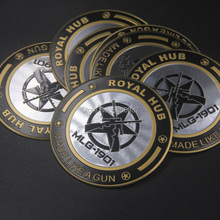 FASP Royal Enfield Moto emblema do Emblema de alumínio padrão de alta qualidade Decal & sticker para Royal Enfield 1901 Retro motocicleta