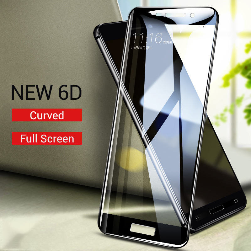 6D Curved Tempered Glass For Nokia 5.1 3.1 6.1 7.1 5 3 6 2018 Screen Protector Film For Nokia 9 8 Protective Glass Nokia 3.1