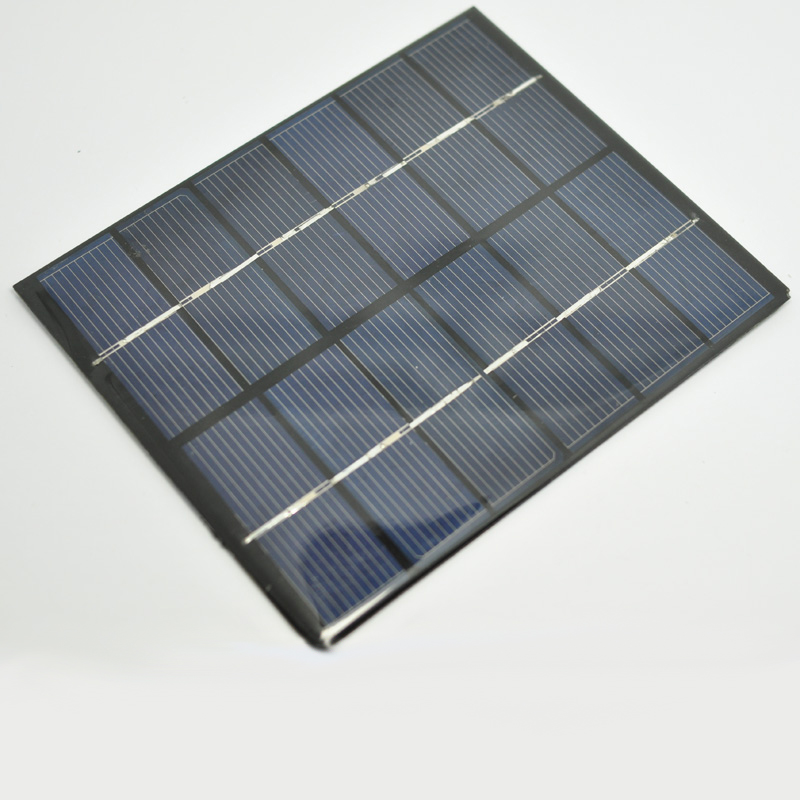 eiemsun 6V 0.33A 2W Mini Solar Panels Solar Power 3.6V Battery Charge Solar Cell 136* 110*3 MM 10pcs/lot Drop Free Shipping