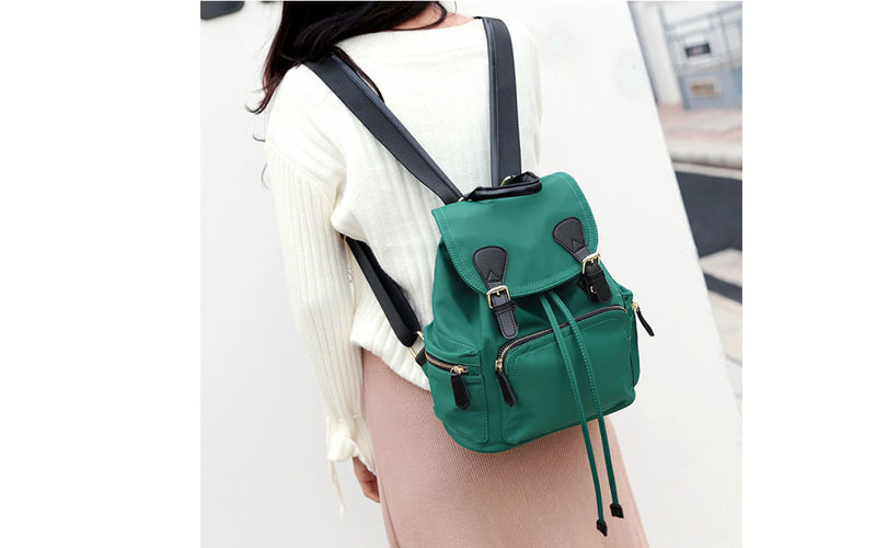 e8d25f0c78 Fashion Women Backpacks Double Zipper Girls Genuine Cow Leather Simple  Backpacks Shoulder School Bags Laptop High Quality MaidyUSD 50.05 piece