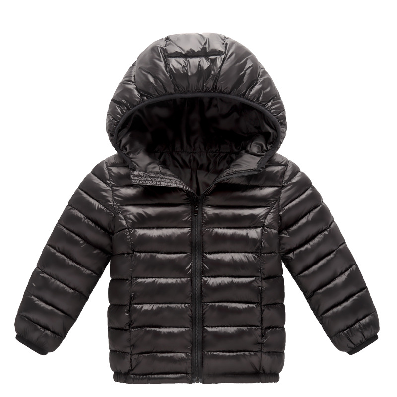 Осень/зима для мальчиков пальто Дети Одежда для девочек из хлопка детские для девочек хлопок Костюмы Детские Куртки модные пальто с капюшон...