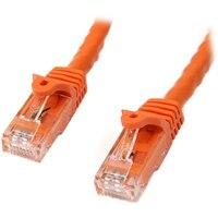StarTech.com N6PATC10MOR, 10 м, Cat6, U/UTP (UTP), RJ-45, RJ-45, Naranja