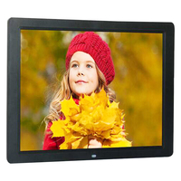 Free shipping 15 Inch 1280 x 800 / 16:9 LED Widescreen Suspensibility Digital Photo Frame with Holder & Remote Control