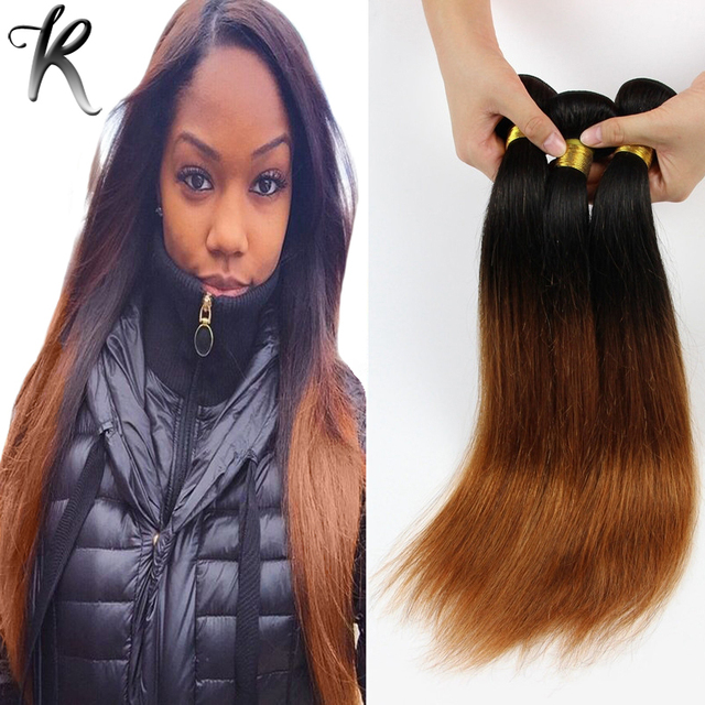 1b30 brazilian ombre hair extensions 2 tone brazilian straight 1b30 brazilian ombre hair extensions 2 tone brazilian straight hair weaving certified human hair made ombre pmusecretfo Images
