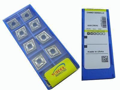Купить с кэшбэком PROMOTION New 10PCS YUSING CNMG120404 LH ALuminium Carbide Insert Milling cutter