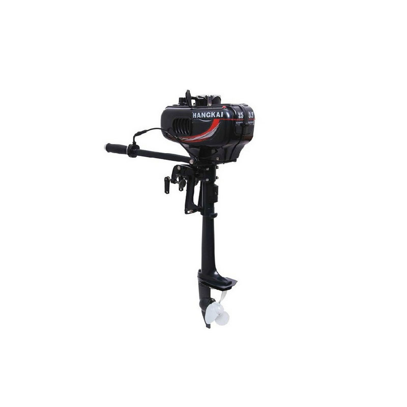 3.5P marine two-stroke gasoline engine motor boats inflatable boat propeller stern machine hangkai 3 5hp superior engine water cooling system outboard motor two stroks inflatable fishing boat