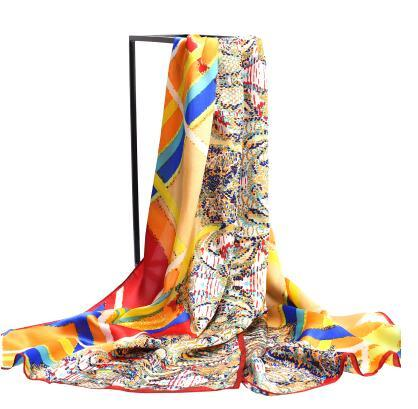 new pattern 100% printed silk scarves silk Long women scarf high-grade brand designer chinese style digital printing shawls-b211