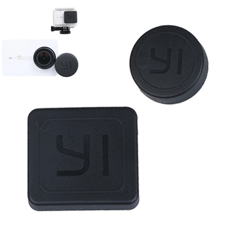 Lens Cap Cover for Xiaomi Yi 2 4K Waterproof Housing Case Lens Protective Cover for Sports Xiaomi yi 2 Action Camera Accessories