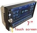 Frete grátis 2DIN Carro DVD/MP3/mp5/usb/sd/jogador Mãos Livres Bluetooth da tela de Toque hd sistema