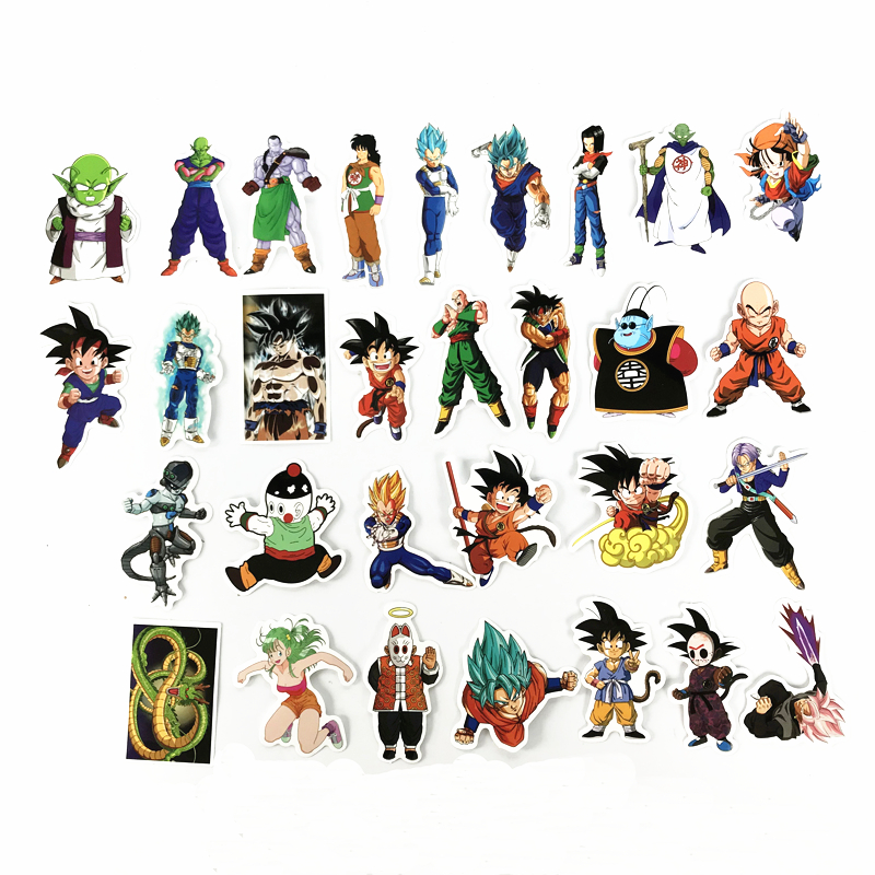 TD-ZW-100-Pcs-Not-Repeat-Dragon-Ball-Anime-Sticker-For-Car-Laptop-Skateboard-Pad-Bicycle (3)