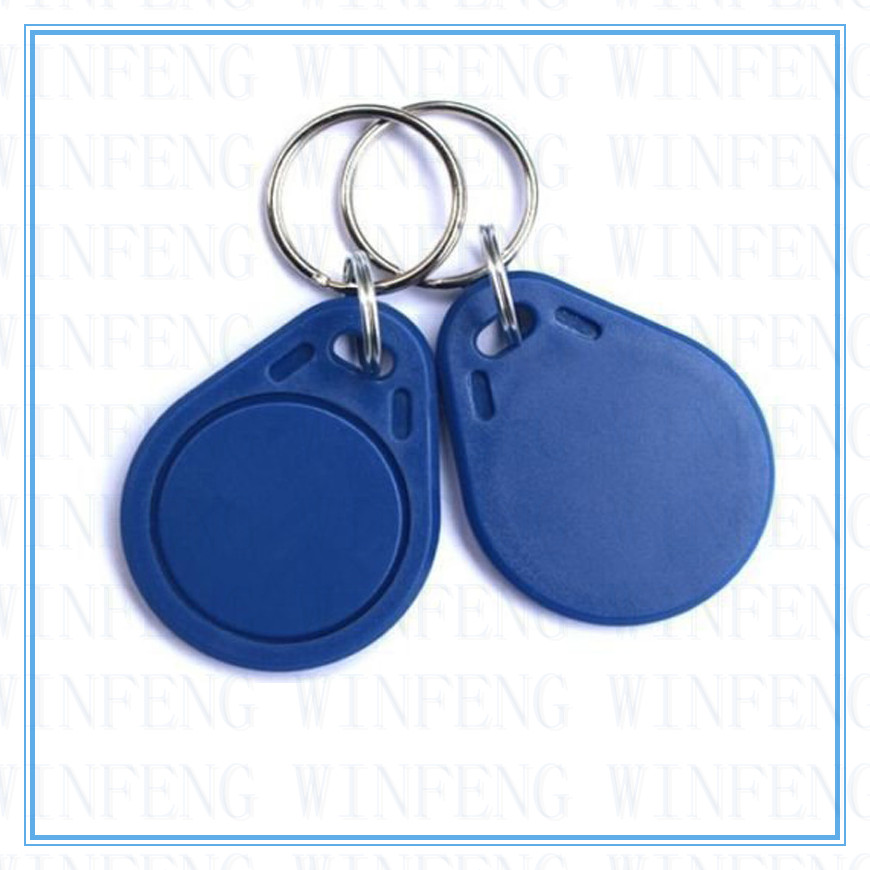 Waterproof ISO14443A Passive Contactless IC Tags Read and Write NFC NTAG213 Key Fob 10pcs/lot Free Shipping