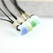 Ceramic Beads Hand-woven Necklace Fashion Women Lovers Jewelry Clavicle Necklace Wholesale A106(China)