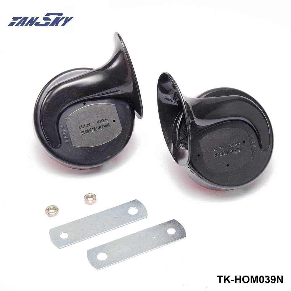 1 Pair 12v 110dB 510Hz Auto Truck Dual Snail Horn High low Car Motor Vehicle For Ford Focus 98-12 TK-HOM039N