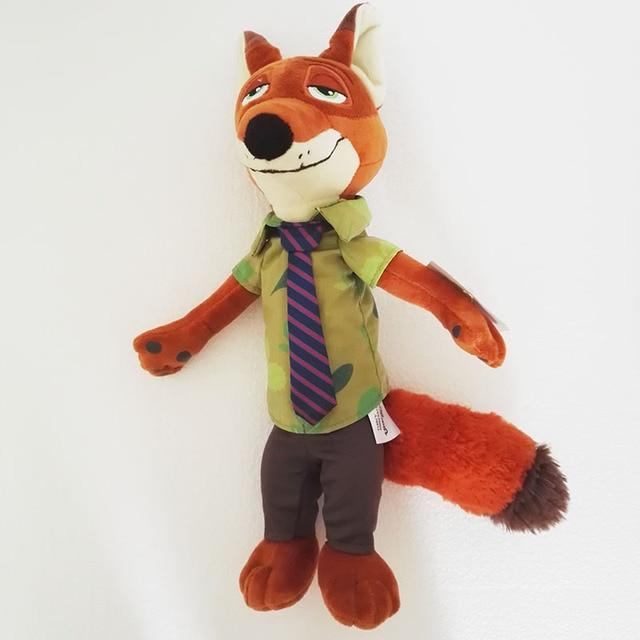 mylb Zootopia 40cm Movie Plush Rabbit Judy Hopps and Fox Nick Wilde Kids Action Figure Toys