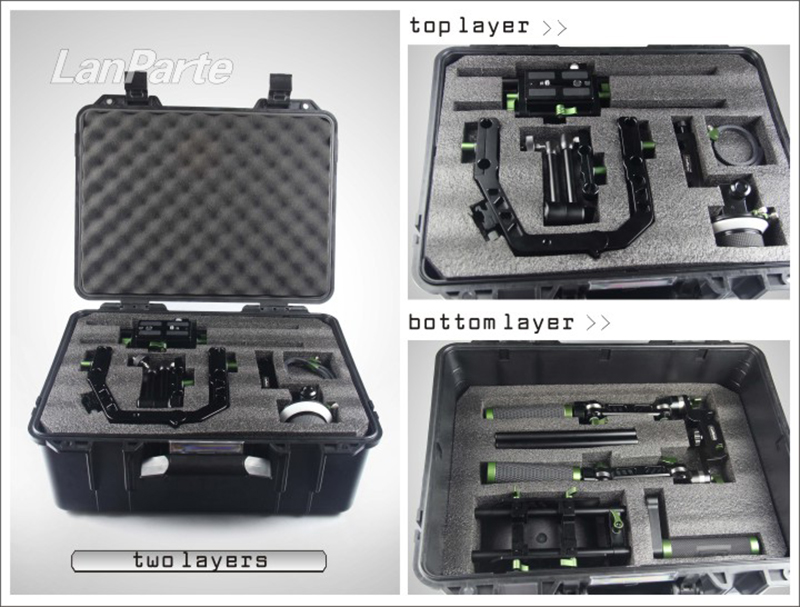 Lanparte Simple suite Shading bucket ABS safety box special custom for lanparte suite suitcase protective tool case