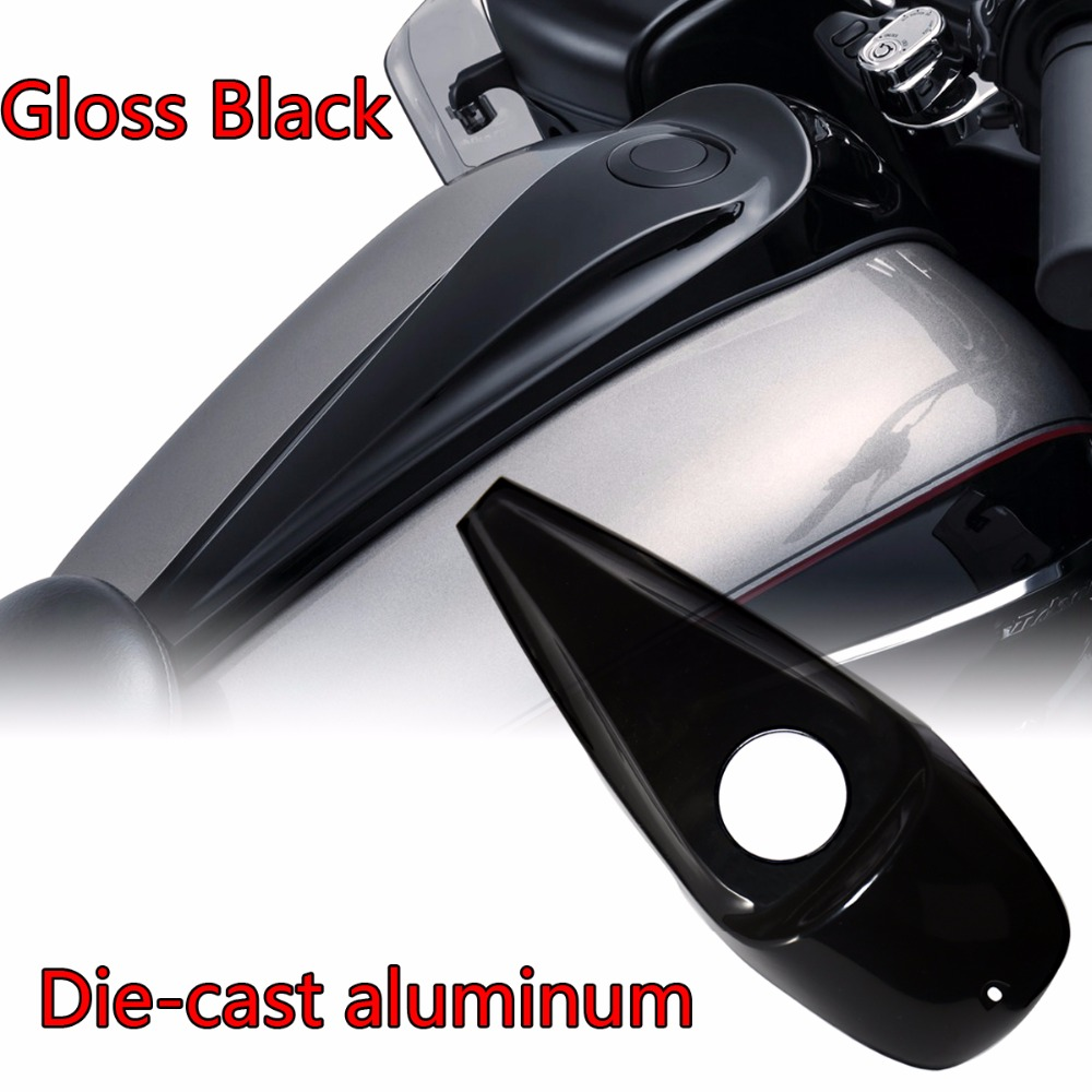 Die-cast Aluminum Smooth Dash Console Cover For Harley 2008-2018 Touring Electra Street Glide Road FLH/T FLHX Models