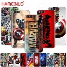 HAMEINUO Marvel Superheroes Cover Case for Xiaomi Mi 3 4 5 5S 5C 5X 6 Mi3 Mi4 4S