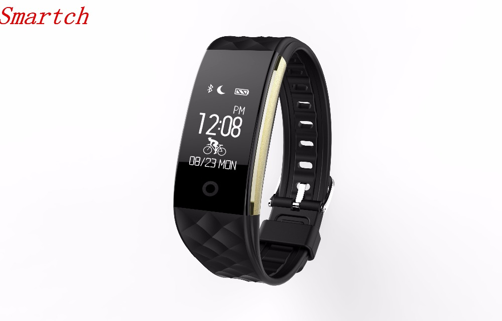 Smartch S2 Smart Band Wristband Bracelet Heart Rate Monitor Pedometer IP67 Waterproof Smartband Bracelet For Android