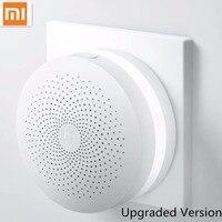 Update Version Original Xiaomi Mijia Smart Home Multifunctional Gateway Alarm System Intelligent Online Radio Night Light Bell