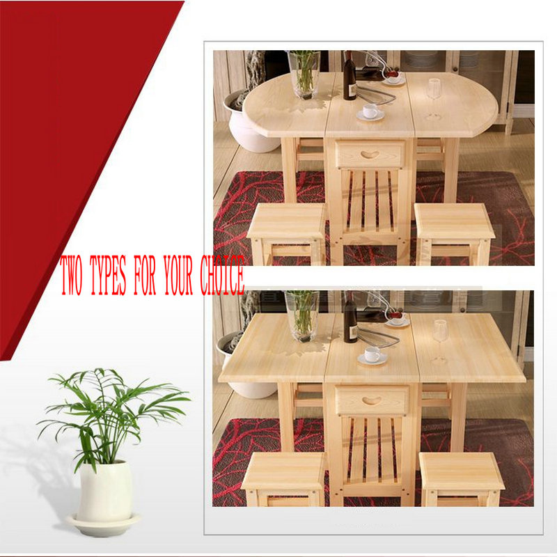 Aliexpress.com : Buy Semi Circle Foldable Pine Solid Wood Living Room  Furniture Coffee Dining Table (NO Drawers/Chairs) Children Lacquer Health  From ... Part 93