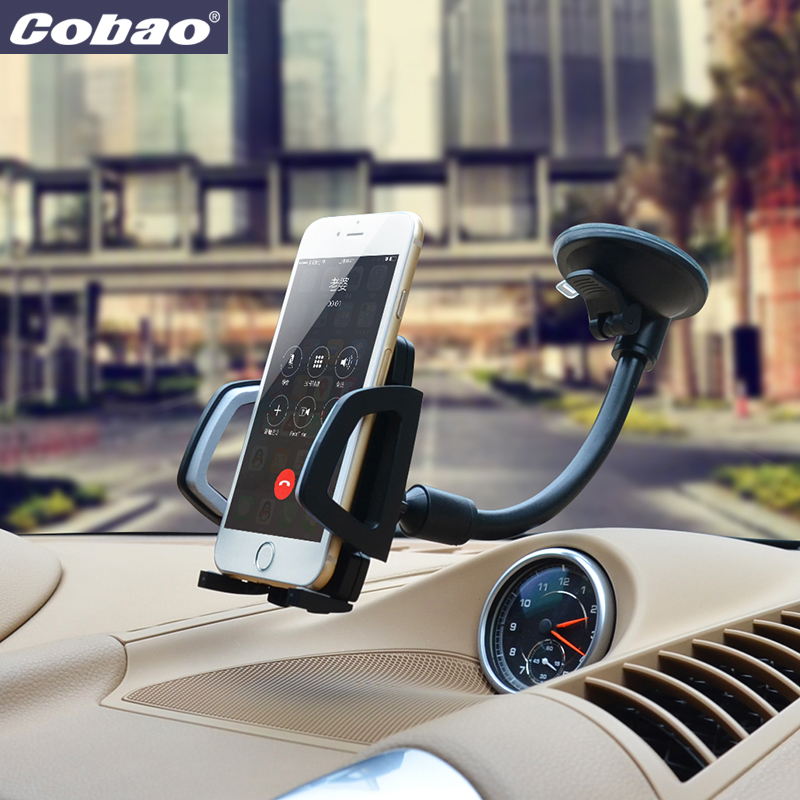 Universal windshield car mount holder Cobao marca smartphone phone holder suporte para xiaomi nota iphone 5 5S 6 6 s galaxy s4 s5 s6