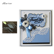 JCarter Exquisite Edge Frame Metal Cutting Dies for Scrapbooking DIY Album Embossing Folder Cards Maker Photo Template Stencil