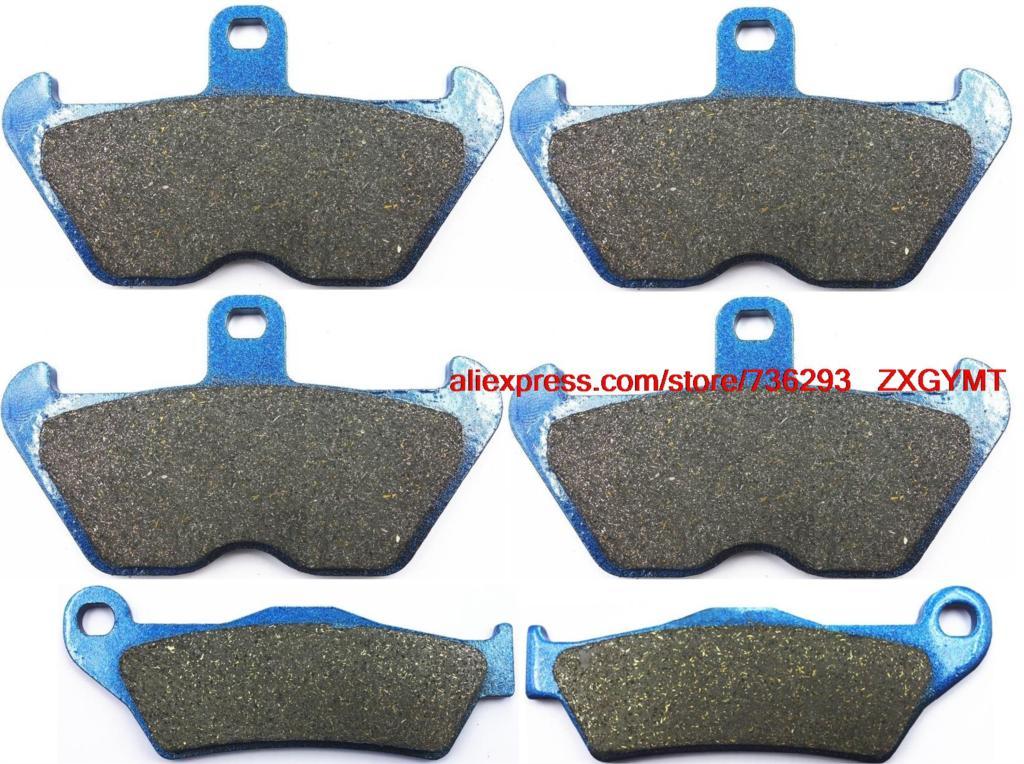 Motorcycle Semi Metallic Disc Brake Pads for BMW R1100 R1100RT R 1100 RT 1995 & up