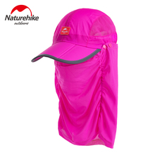 Naturehike unti-UV sunscreen outdoor Fishing Caps Breathable Hat For Men Women summer Camping Hiking Hat