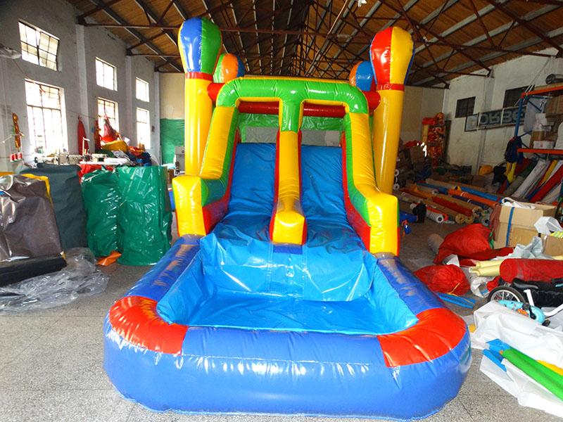 PVC commercial inflatable water slide combo inflatable bouncer house inflatable pool for adults and kids in Playground from Sports Entertainment