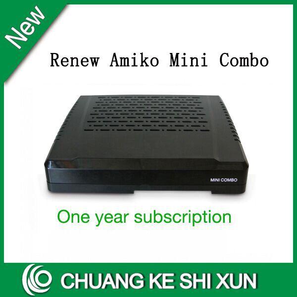 Delightful Rinnovo Abbonamento Annuale Tassa Amiko Singapore Cavo TV Box