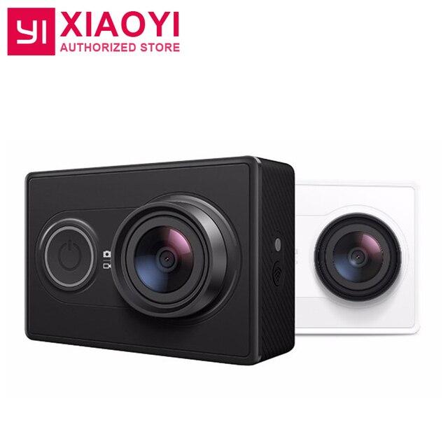 "Original Xiaoyi YI Action Sports Camera Ambarella A7LS 16MP 155"" 1080P WiFi Video Camera Recorder 3D Noise Reduction F2.8 H.264"