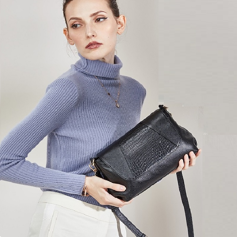 2019 new genuine leather shoulder bags women High Quality woman messenger bag designer soft luxury tote