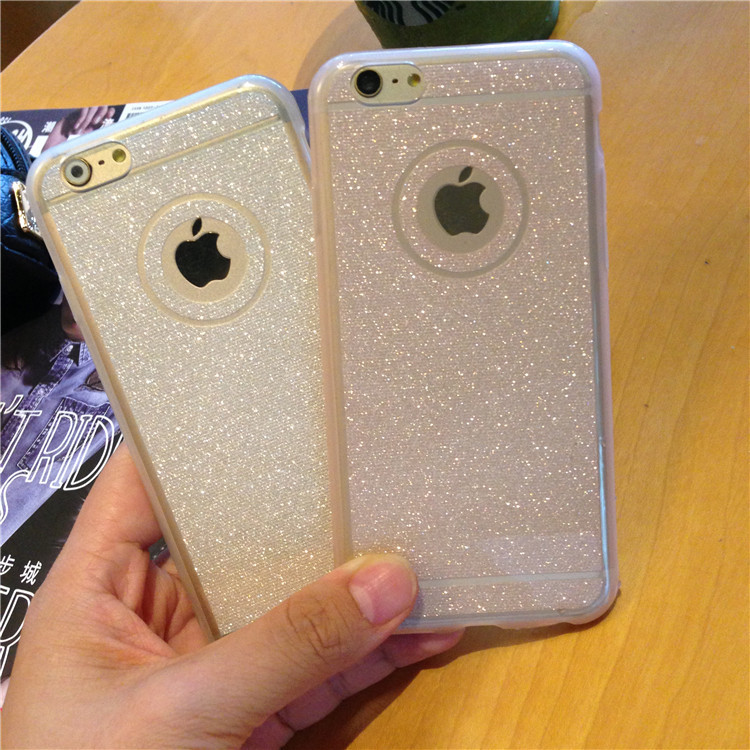 iphone 6 case transparent glitter
