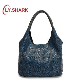 LY.SHARK Women Fashion Large Capacity Handbag Ladies PU Leather Shoulder Bag Female Handbag For Women 2019 Clutch Bag Ladies