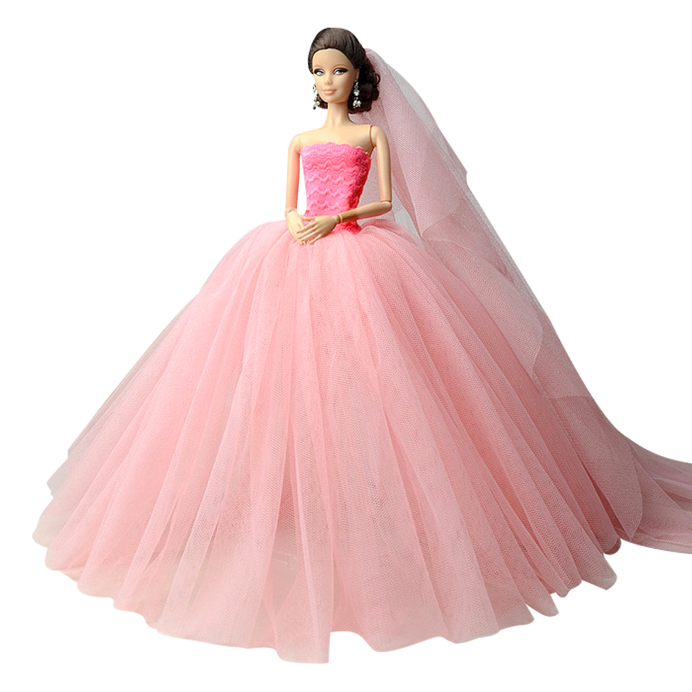 Barbie Wedding Dress: Aliexpress.com : Buy NK One Set Hotsale Fashion Wedding