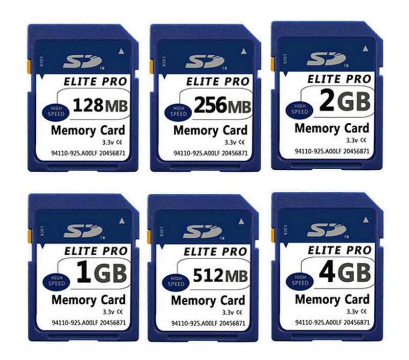 Original SD Card 128MB 256MB 512MB 1GB 2GB SD Memory Card Secure Digital Flash Memory Card