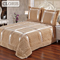 CLORIS 2018 High Quality Blanket Plaid Quilted Patchwork Bedspread King Size Bed SheetS Qualt Coverlet On The Bed Veil With Down