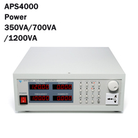 220V 50Hz 60Hz APS4000 AC Power Source Supply Storage Type Variable Frequency Power Supply Output Double Insurance Input