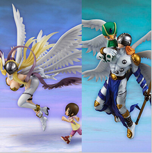 Digital Monster Digimon Figure Angemon Angewomon PVC Action Figure Digimon Colletion Model Toy